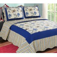 Best Printed Embroidery bedroom beautiful comforter sets with frame wholesale