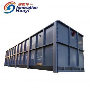 Best 220V 50Hz Cast Iron STP Treatment Plant , MBR Package Wastewater Treatment Plant wholesale