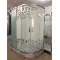 Best Simple Maple Leaf Shower Cabin With Tray , Bathroom Shower Cubicles wholesale