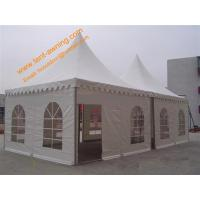 Outdoor  5x5m UV Resistance Fireproof Powder Coated Steel Party Event Tent Wedding  Pagoda