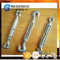 Best High Quality Carbon Steel Drop Forged Galvanized US Type Din1480 Turnbuckle wholesale