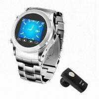 Best 1.3-inch Touch Screen Men's Mobile Phone Watch Supports 4GB T-flash Card with GPRS/GSM System wholesale