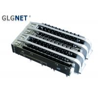 Buy cheap Press Fit 2 Ports Ganged Female SFP Cage With Heat Sink Light Pipes from wholesalers