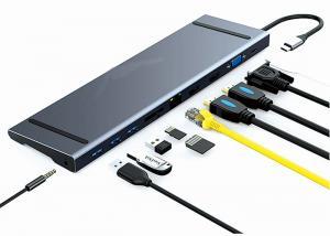 Best 3.5mm Audio USB Type C Docking Station 30Hz 60Hz USB C HDMI USB Hub wholesale
