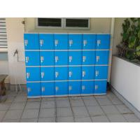 Best Color Door 5 Tier Lockers For Office , Coin Return Lockers For Supermarket wholesale