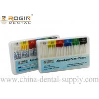 Best Colour Coded 2% 4% 6% ISO Size Absorbent Paper Points Endodontic Material F1 F2 F3 wholesale