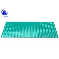China Impact Resistant Plastic Roof Tiles A-PVC Corrugated Roofing Sheets Factory Cover on sale