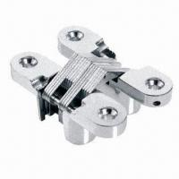 Best Invisible Hinge, Made of Zinc Alloy and Stainless Steel, Chrome or Gold Plated Finishing wholesale