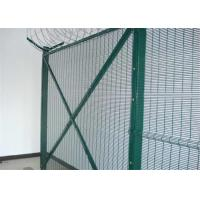 China PVC coated 358 wire mesh fence panels  Anti-Cut & anti-climb Security Fence on sale