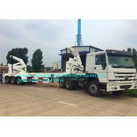 China Heavy Duty Shipping Container Handling Equipment 37000kg Container Lift Trailer on sale
