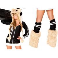 Best Women Fashion DJ Spinwheel Hamster Party Adult Costumes White Black Brown Color wholesale