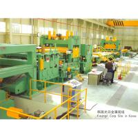 China Uncoiling-Leveling-Cut To Length Line With Coil Car, 3-12 Mm Metal Coil Cut To Length Line on sale