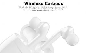Best Bluetooth V5.0 In Ear True Wireless Earbuds 5D HIFI Stereo Wireless Headset wholesale