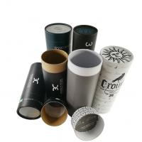Best EVA Insert Custom Printed Paper Tubes For Clothes / Cylinder Cardboard Box wholesale