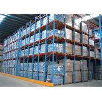 Double Entrance Drive In Industrial Shelving UnitsFor High Density Pallet Storage