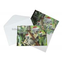 Buy cheap Custom 3D Lenticular Printing Services CMYK Offset Printing Greeting Card In PP from wholesalers