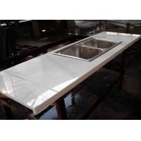Best Montary Nano Glass Kitchen Island Countertops Cabinet White Color wholesale