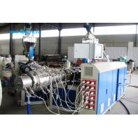 China Double Layer PVC Pipe Making Machine on sale