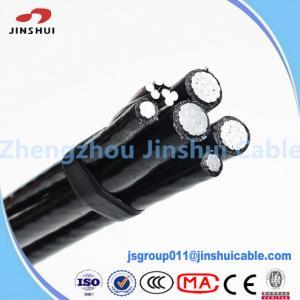 Best Street Lighting Triplex Overhead Wire Aluminum Service Cable NASA IEC Standard wholesale