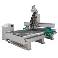 Best 3 Spindles Auto Tool Changer ATC Furniture Wood Relief CNC Machine wholesale