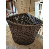 Best PP Plastic Laundry Basket Dirty Clothes Basket Portable Toys Debris Snack Storage rolling woven grey wicker laundry wholesale