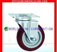 China Light Mediumduty Swivel Rubber Caster Wheel on sale