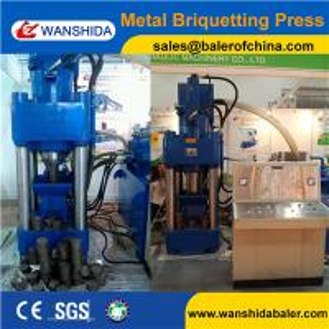 Y83-2500 Vertical copper powder briquetting briquette press hydraulic waste metal recycling machine