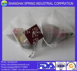 Best Empty PET mesh tea bag for sale/filter bags wholesale