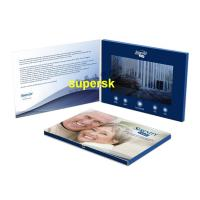 China Bespoke Personalized  Invitation Video Card Business Video Greeting Card on sale