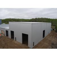 Buy cheap High Rise Prefabricated Metal Frame Structure Workshop Building from wholesalers