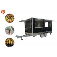 Best 3000w Power Mobile Catering Trailer Custom Stainless Steel Street Food Truck wholesale