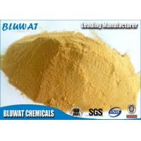 Best Polymeric Ferric Sulphate for Wastewater Treatment Plant Pale Yellow Powder 19% wholesale