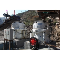 China Cone Crusher Machine With Full Hydraulic Configuration , Simple Operation on sale