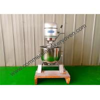 Best 80L Electric Commercial Planetary Mixer 3 Speed Motor Size 750x900x1410mm wholesale