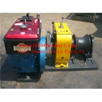 Best cable puller,Cable Drum Winch,Cable pulling winch wholesale