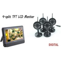 "Best 2.4GHz Wireless 7"" TFT LCD Vedio Night Vision Baby Monitor With Waterproof Cameras wholesale"