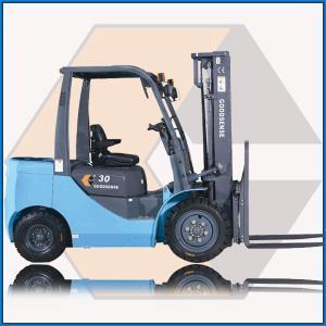 Best 3.0t Diesel Forklift with Isuzu C240 Engine (FD30B-W1) wholesale