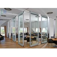 Best Professional Office Glass Partition Walls , Aluminum Partition Wall For Door wholesale