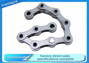 China SUS316 Alkali Resisting Roller Conveyor Chain Quenching on sale