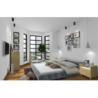 Cheap Cheap Apartment Furniture Space Saving New Residence Bedroom Fabric Upholstered for sale