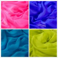 China 100% Silk Georgette Fabric Solid for Wedding Dress and Lady Shirt on sale