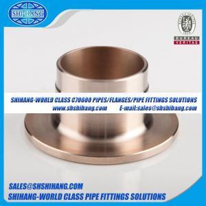 China copper nickel UNS C70600 CUNI 9010 flange Solid Welding Neck Flange-DIN 2632/DIN 2633 on sale