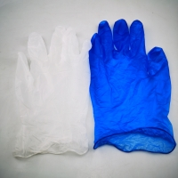 China Puncture Resistant Powder Free Vinyl Examination Gloves on sale