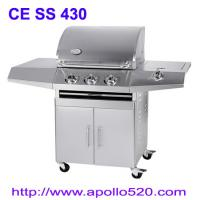 Best Commercial and Family Use 3 Burners Stainless Steel Gas Grill wholesale