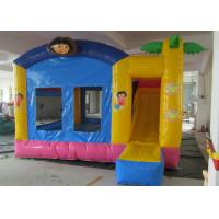 Best High Safety Childrens Bouncy Castle 4mx4m 5mx5m Sizes For Entertainment wholesale