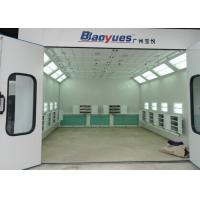 Best 6.9M Rear Side Draft Infrared Spray Paint Booth Multi Functional CE TUV Certification wholesale