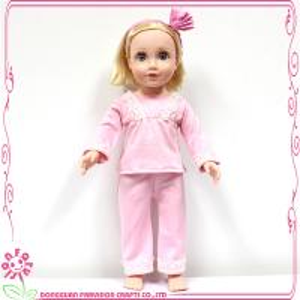 China 18 inch doll pajama, american girl doll pajama wholesale on sale