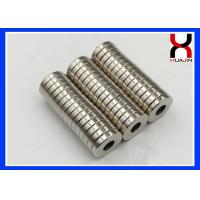 Best Professional Rare Earth Neodymium Magnet Ring NiCuNi Coating Type with Hole wholesale
