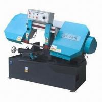 Best Horizontal Metal Cutting Band Saw Machine with 3kW Main Motor and 0.42kW Hydraulic Motor wholesale