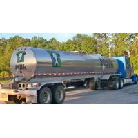 China 304 Stainless steel water milk  tanker trailer Stainless Steel Tanker Trailer For Milk and Edible oil App:8615271357675 on sale